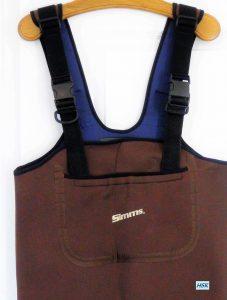 Simms Neopren Wathose mit Brusttasche